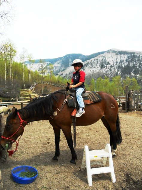 Preston horseback riding